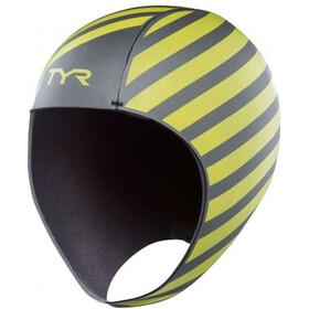 TYR Hi-Vis Neopreen Zwemcap, fluo yellow